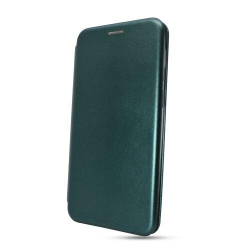 Puzdro Elegance Book iPhone 7/8/SE (2020) - tmavo zelené