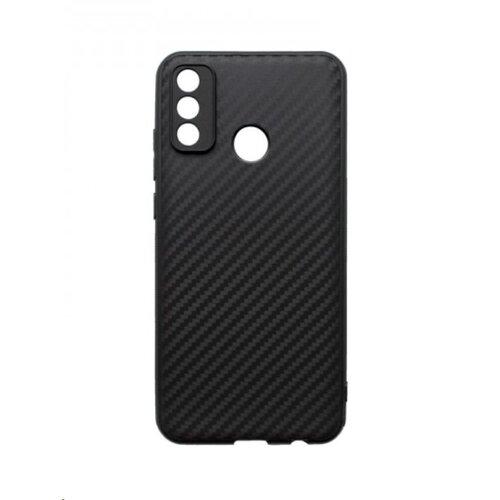 Huawei P SMART 2020 čierne gumené puzdro, Carbon