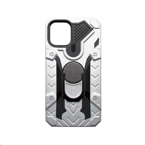 Iphone 12 Pro Max strieborné puzdro plastové puzdro s držiakom na prst