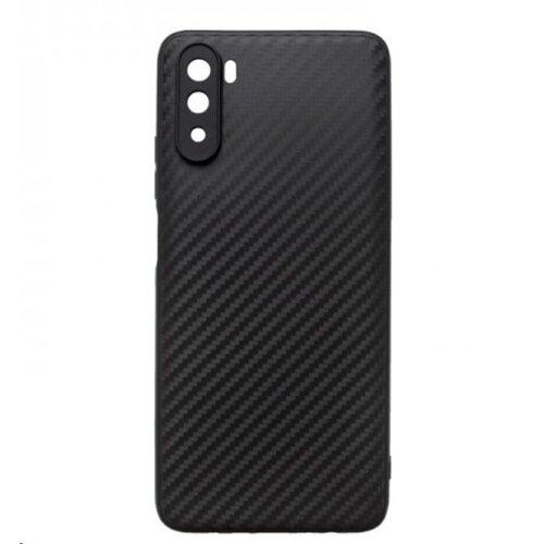 Huawei Mate 40 Lite/Mate 9 čierne gumené puzdro, Carbon