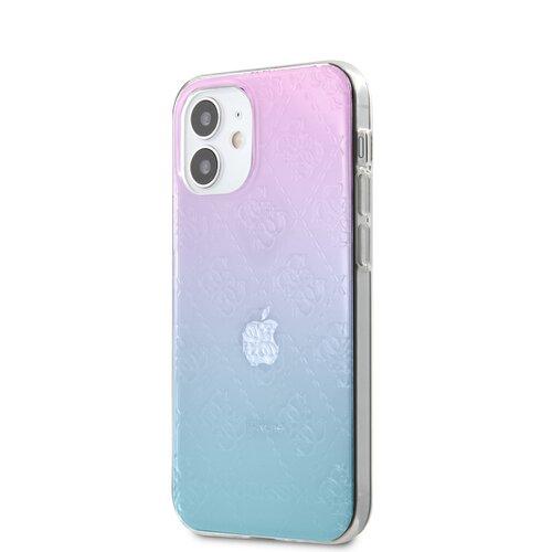 Puzdro Guess pre iPhone 12 Mini (5.4) GUHCP12S3D4GGBP silikónové