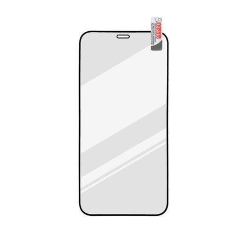 Ochranné sklo Q sklo iPhone 12 Pro Max (6.7) celotvárové - čierne (full glue)