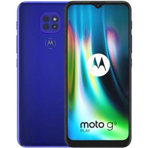 Motorola Moto G9 Play 4GB/64GB Dual SIM Modrý