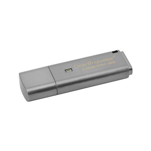 USB kľúč KINGSTON DT Locker+ G3 128 GB USB 3.0