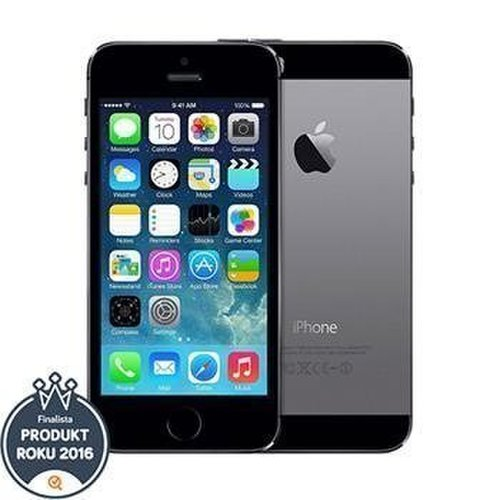 Apple iPhone 5S 16GB Space Gray - Trieda B