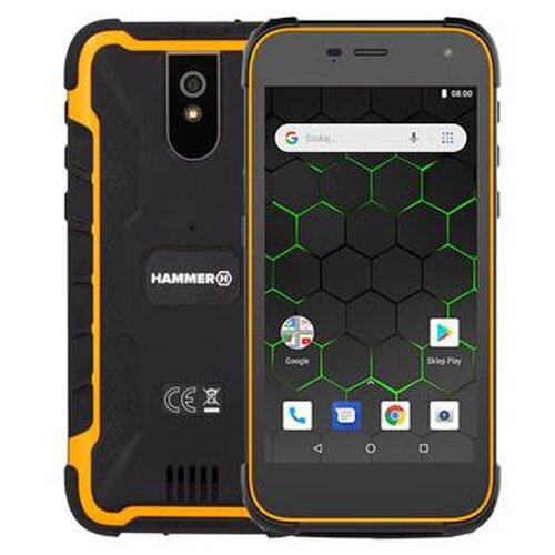 MyPhone Hammer Active 2 Dual SIM, Oranžový - Porušené balenie