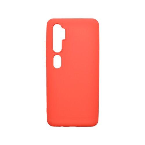 Matný silikónový kryt Xiaomi Mi Note 10 Pro červený