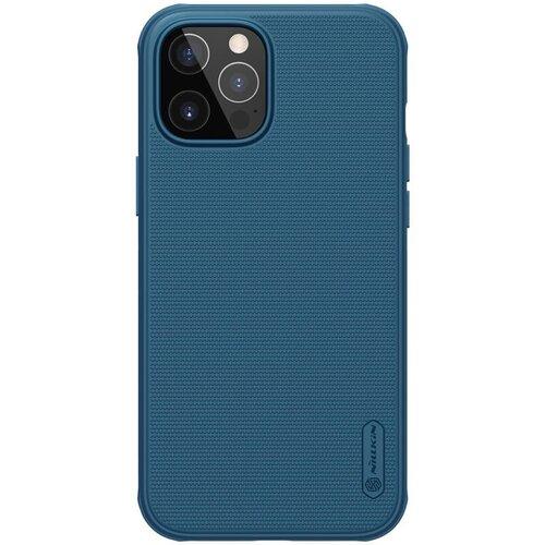 Nillkin Super Frosted PRO Zadní Kryt pro iPhone 12/12 Pro 6.1 Blue
