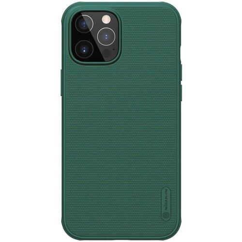 Nillkin Super Frosted PRO Zadní Kryt pro iPhone 12/12 Pro 6.1 Deep Green