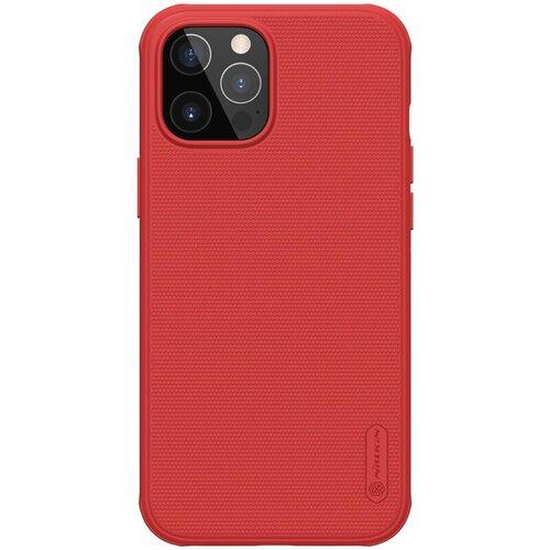 Nillkin Super Frosted PRO Zadní Kryt pro iPhone 12/12 Pro 6.1 Red