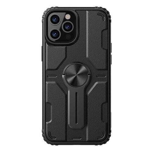 Nillkin Medley Zadní Kryt pro iPhone 12/12 Pro 6.1 Black