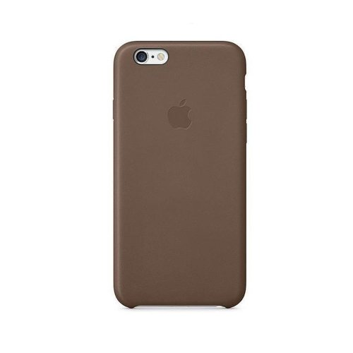 MKX92ZM/A Apple Leather Cover Brown pro iPhone 6/6S Plus (Pošk. Blister)