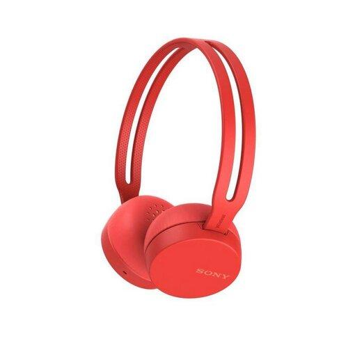 Sony WHCH400R.CE7 Bluetooth slúchadlá Červené - porušené balenie