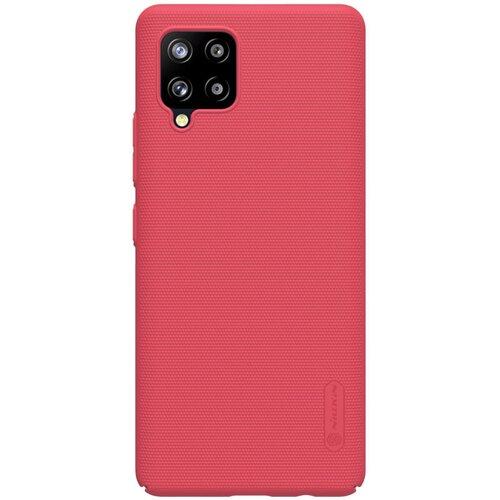 Nillkin Super Frosted Zadní Kryt pro Samsung Galaxy A42 Bright Red