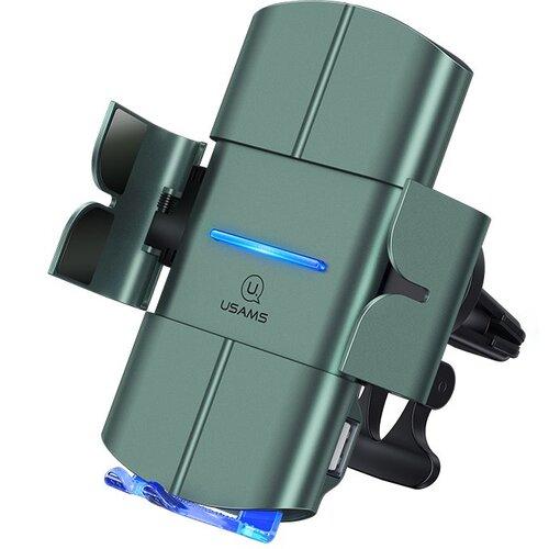 Držiak do auta s bezdrôtovým nabíjaním USAMS CD133 Automatic Coil 10W Čierny