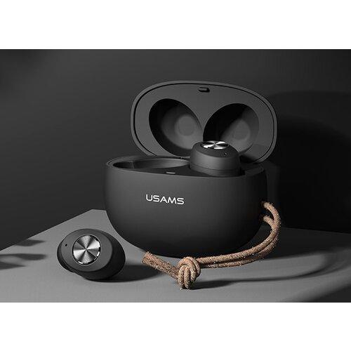 USAMS ES TWS Fashion EarBuds Black