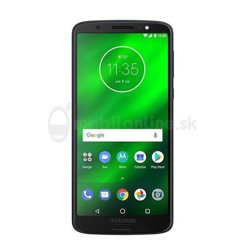 Motorola Moto G6 Plus 4GB/64GB Single SIM Modrý - Trieda A