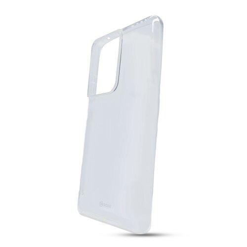 Puzdro Jelly Roar TPU Samsung Galaxy S21 Ultra G998 - transparentné