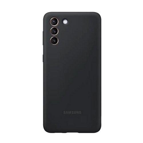 Puzdro Samsung Silikón EF-PG991TBE pre S21 G991 - čierne