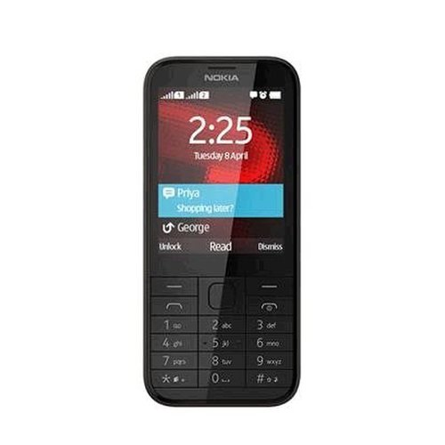 Nokia 225 4G Dual SIM, Čierna