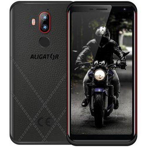 Aligator RX800 eXtremo 4GB/64GB Dual SIM, Čierno-červený - porušené balenie