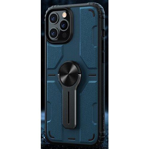 Nillkin Medley Zadní Kryt pro iPhone 12 Pro Max 6.7 Blue