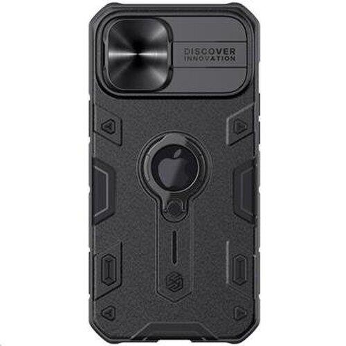Nillkin CamShield Armor Zadní Kryt pro iPhone 12 Pro Max 6.7 Black (logocut)