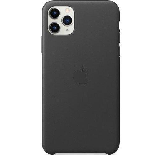 MX0E2ZM/A Apple Kožený Kryt pro iPhone 11 Pro Max Black