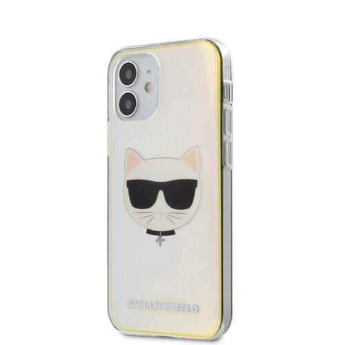 Puzdro Karl Lagerfeld pre iPhone 12 Mini (5.4) KLHCP12SCIR silikónové