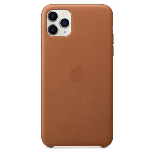 MX0D2ZM/A Apple Kožený Kryt pro iPhone 11 Pro Max Brown