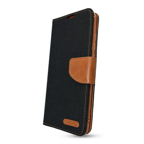 Puzdro Canvas Book Samsung Galaxy S21+ G996 - čierne