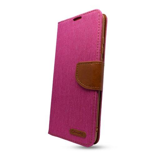 Puzdro Canvas Book Samsung Galaxy A12 A125 - ružové