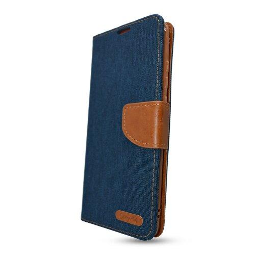 Puzdro Canvas Book Samsung Galaxy S21 Ultra G998 - tmavo modré