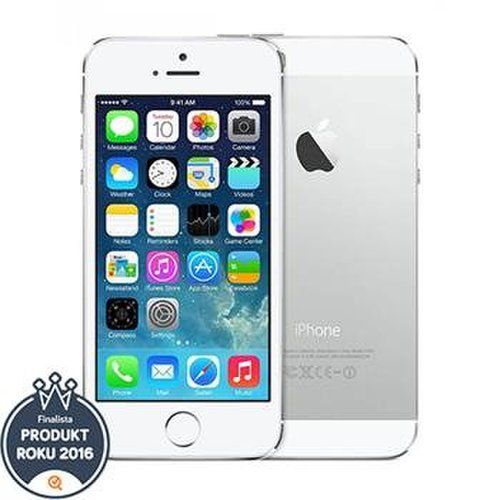 Apple iPhone 5S 16GB Silver - Trieda C