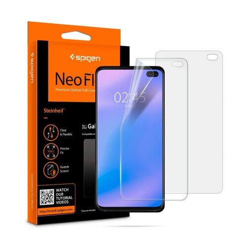 Ochranná fólia Spigen Neo Flex HD Duo Pack Samsung Galaxy S10+ G975 (2ks)