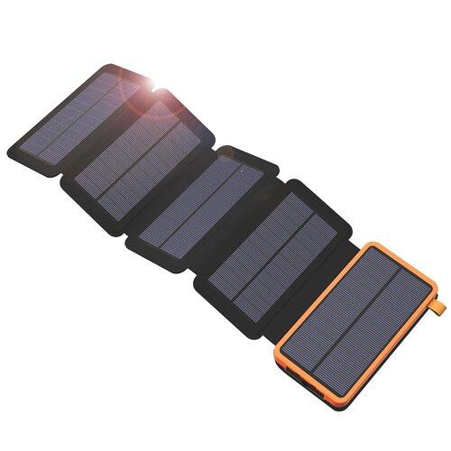 Solárna nabíjačka Allpowers XD-SC-010-BORA 7,5W + 20000mAh Power Bank Oranžovo-čierna