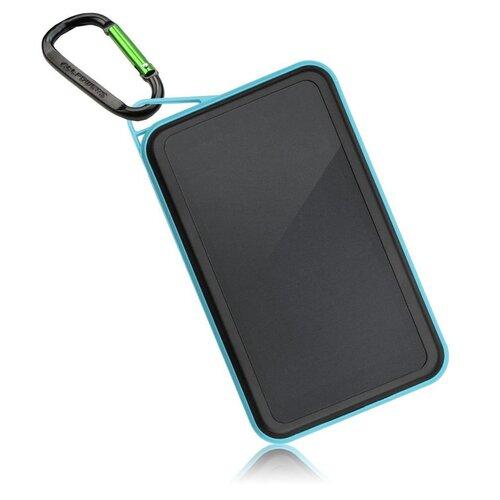 Solárna nabíjačka Allpowers AP-S15000BLU 1,5W + 15000mAh Power Bank Modro-čierna