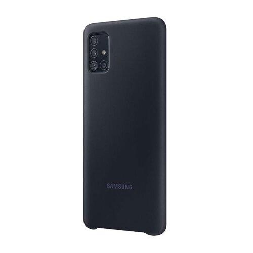 EF-PA515TBE Samsung Silikonový Kryt pro Galaxy A51 Black