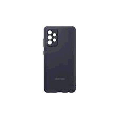 EF-PA725TBE Samsung Silikonový Kryt pro Galaxy A72 Black