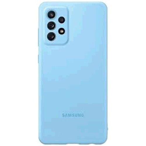 EF-PA725TLE Samsung Silikonový Kryt pro Galaxy A72 Blue