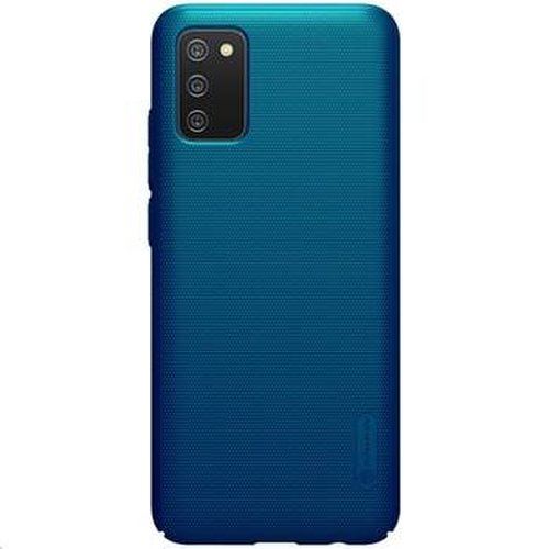 Nillkin Super Frosted Zadní Kryt pro Samsung Galaxy A02s Peacock Blue