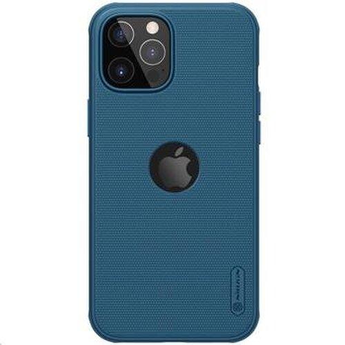 Nillkin Super Frosted PRO Magnetic Zadní Kryt pro iPhone 12 Pro Max 6.7 Blue