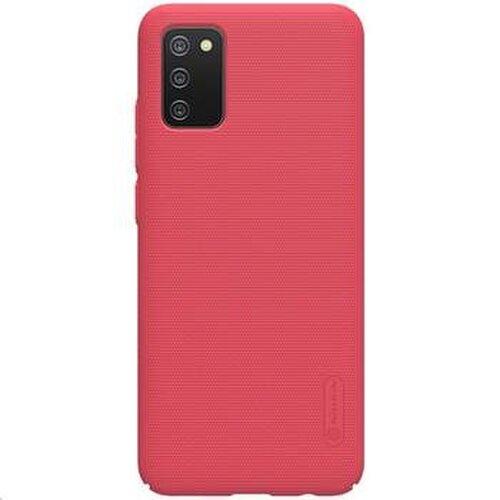 Nillkin Super Frosted Zadní Kryt pro Samsung Galaxy A02s Bright Red