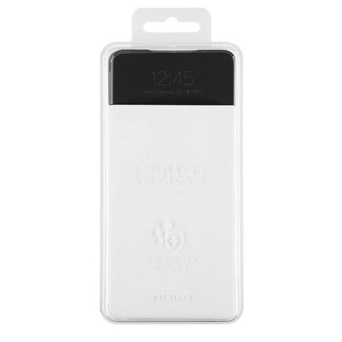 EF-EA725PWE Samsung S-View Pouzdro pro Galaxy A72 White