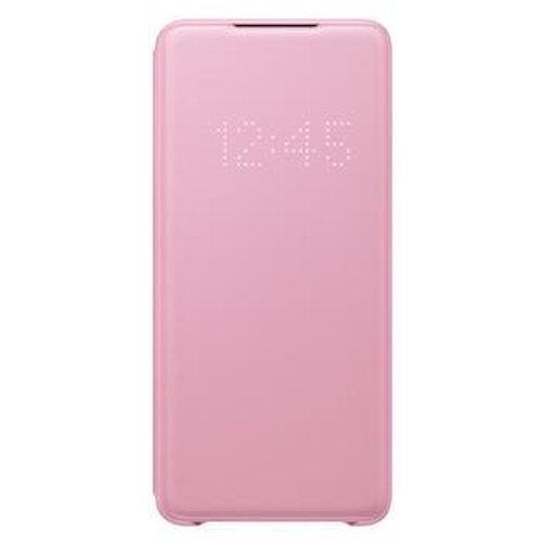 EF-NG985PPE Samsung LED S-View Pouzdro pro Galaxy S20+ Pink (Pošk. Balení)