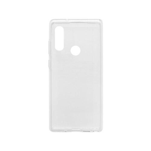 Motorola E6i gumené puzdro, priehľadné