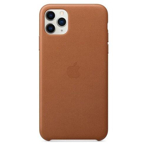 MX0D2ZM/A Apple Kožený Kryt pro iPhone 11 Pro Max Brown (Pošk. Balení)