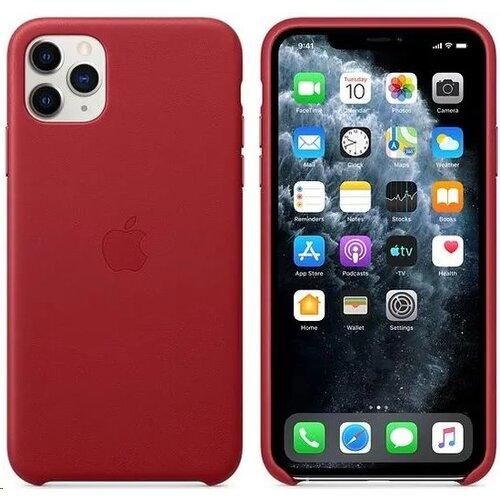 MX0F2ZM/A Apple Kožený Kryt pro iPhone 11 Pro Max Red (Pošk. Balení)