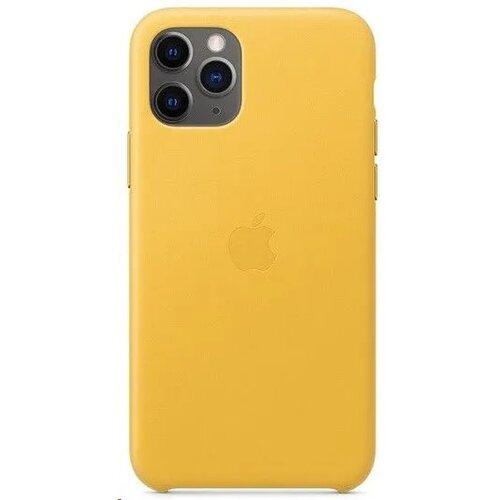 MWYA2ZM/A Apple Kožený Kryt pro iPhone 11 Pro Meyer Lemon (Pošk. Balení)