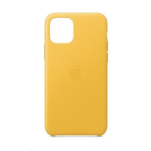 MWYA2ZM/A Apple Kožený Kryt pro iPhone 11 Pro Meyer Lemon